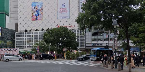 JR渋谷駅周辺