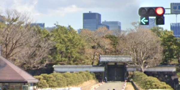 皇居「半蔵門」