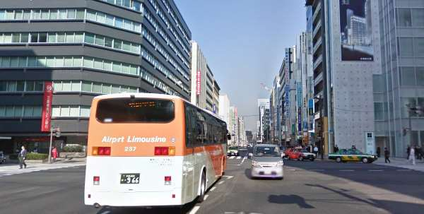 東京の京橋付近